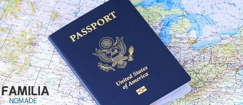 tira passaporte